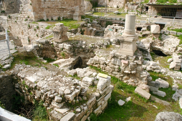 Lion Tracks Photo QnA -- The pool of Bethesda (alt. Bethzatha or ...