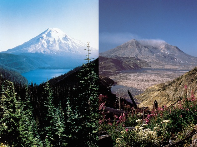 Mount st helens carbon dating error